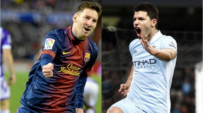 aguero and messi relationship
