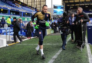 David Ospina con el Arsenal