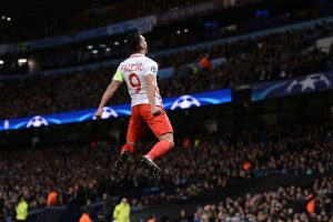 Falcao con Mónaco en Champions League