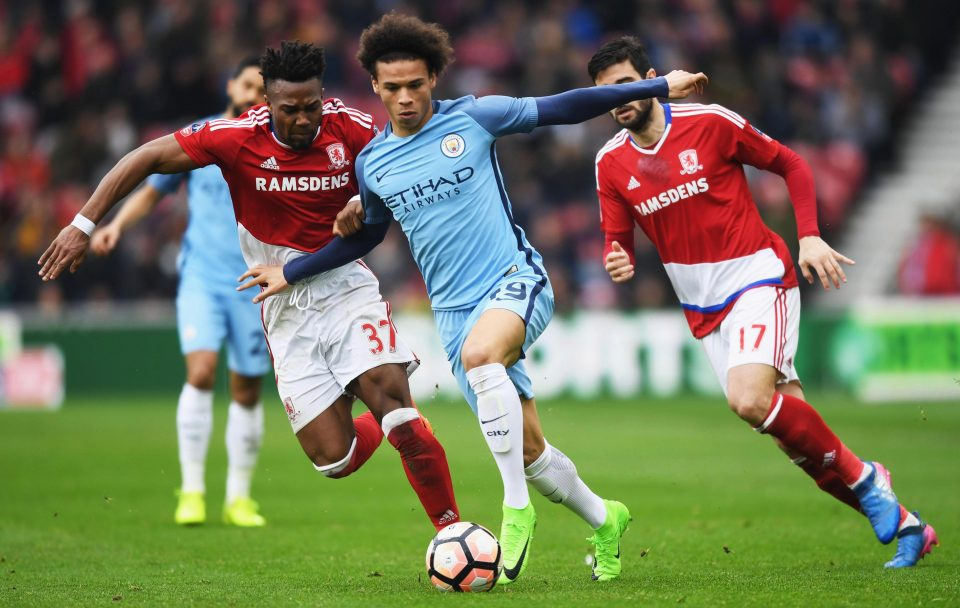 Sané brillando con el City