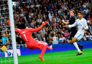 Harry Kane contra el Real Madrid