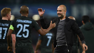 Pep con el City
