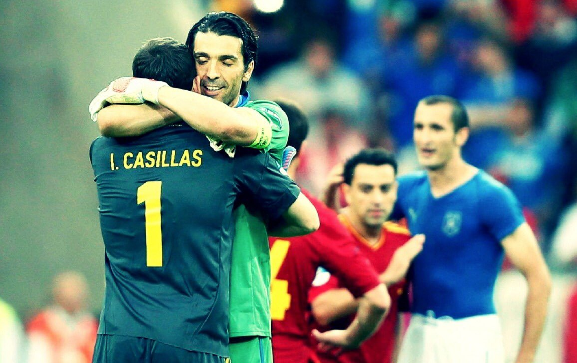 Casillas con Buffon