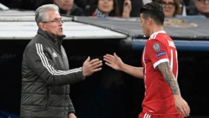 James con Heynckes