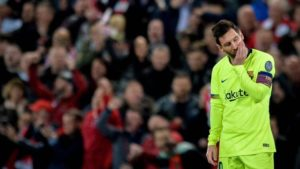 messi eliminado de la champions league