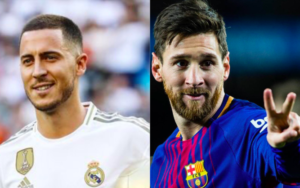 messi vs hazard barcelona vs madrid